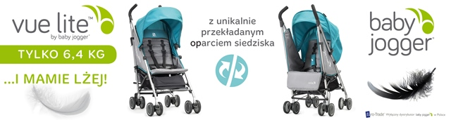vue lite by baby jogger... I MAMIE LŻĘJ!