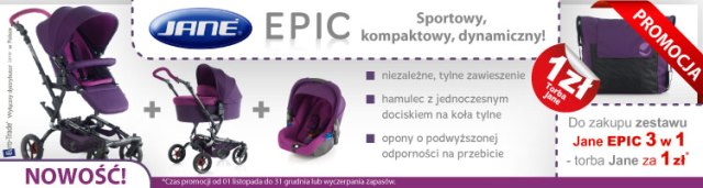 JANE EPIC- NOWOŚĆ! Teraz z TORBĄ!