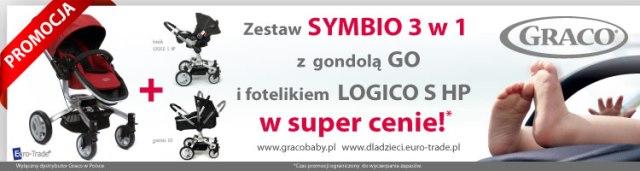 GRACO SYMBIO 3w1_ MEGA PROMOCJA! Więcej za mniej !
