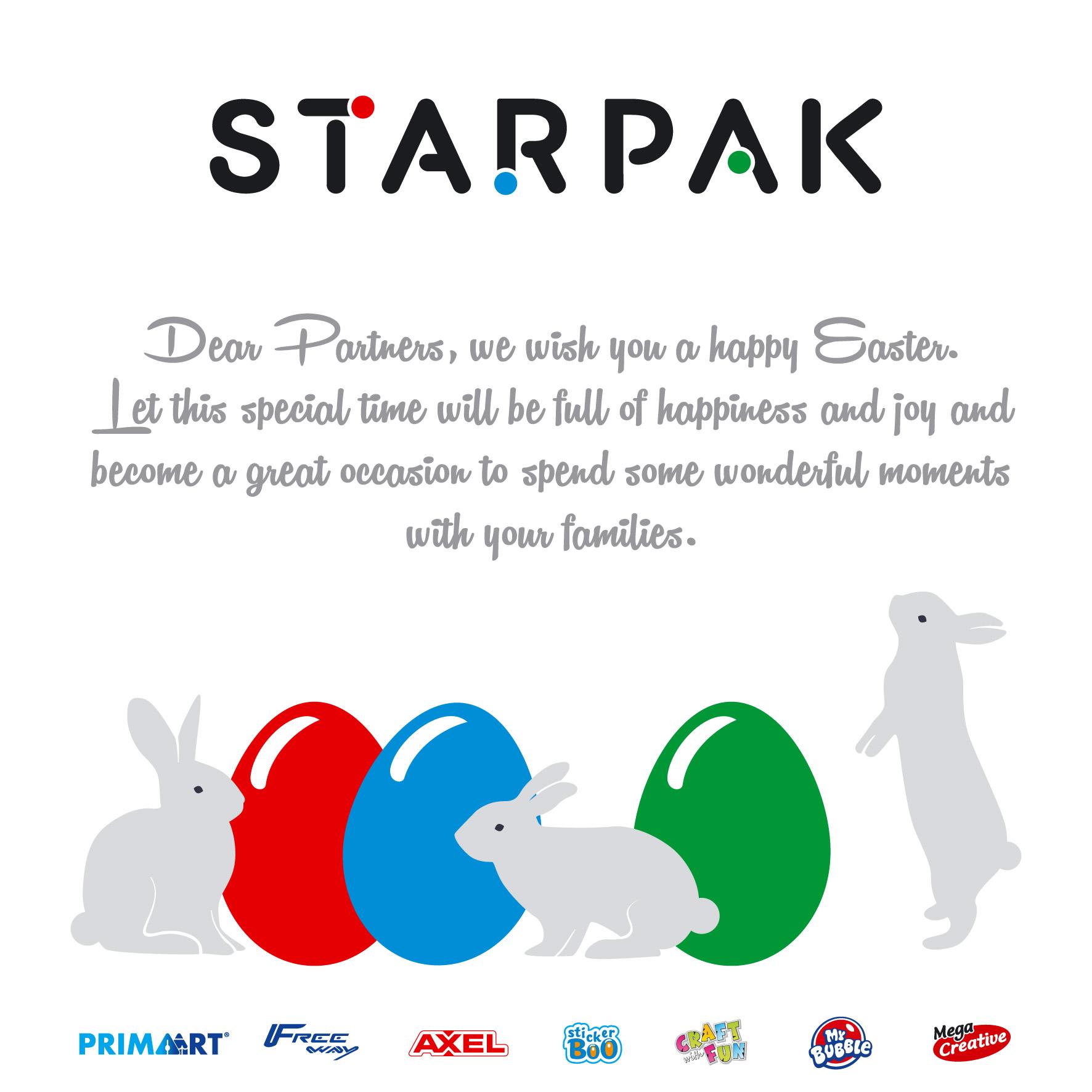 STARPAK Happy Easter 2016