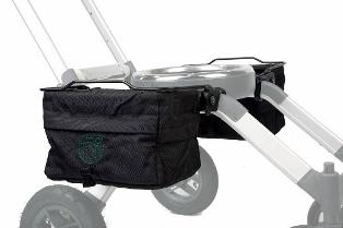 ee0aa98526879 Kosze składane są jednocześnie z ramą wózka. Wózek z zamontowanymi torbami  mieści się w standardowych drzwiach. Ładowność ok. 3